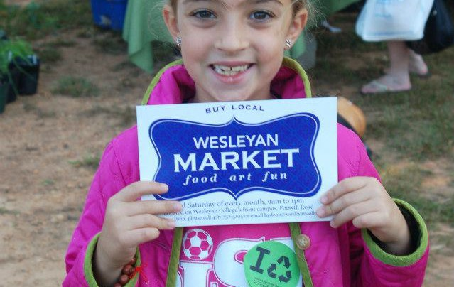 A Very Busy Weekend…. Saturday Part One- Wesleyan Market