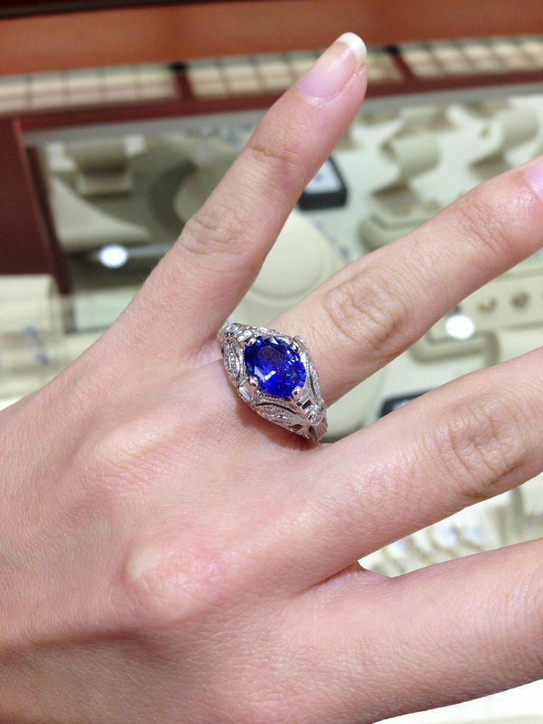 Colored Stones in Engagement Rings? #idsayYES Interview with ...