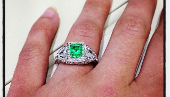 Colored Stones in Engagement Rings? #idsayYES Interview with Bashinski's