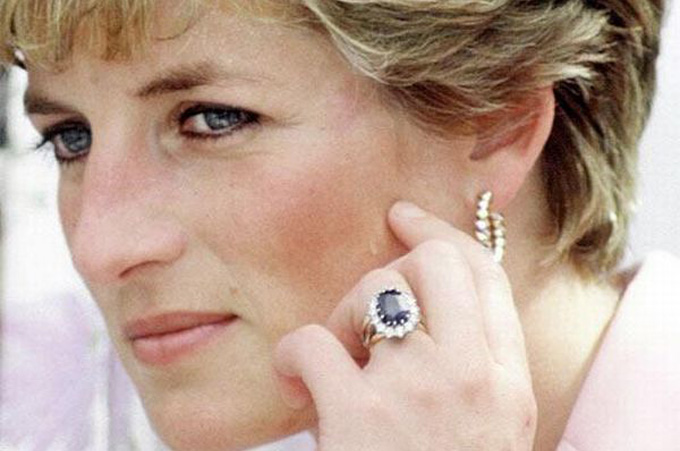Princess Diana Ring Msize W