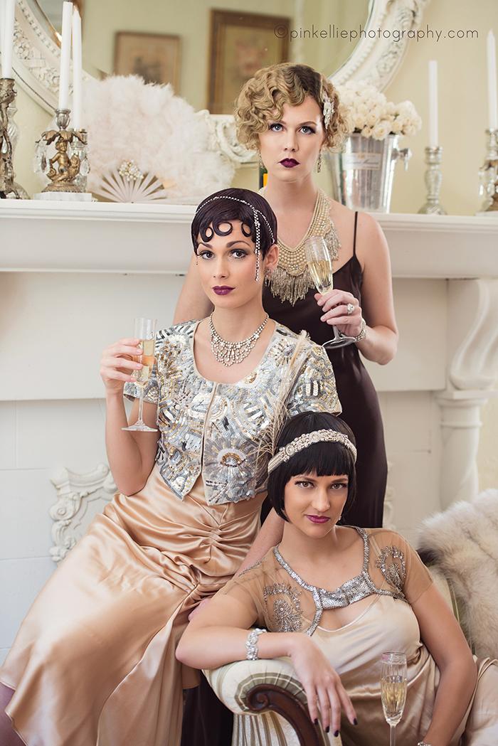 A Glamorous Great Gatsby Shoot Southern Bon Vivant
